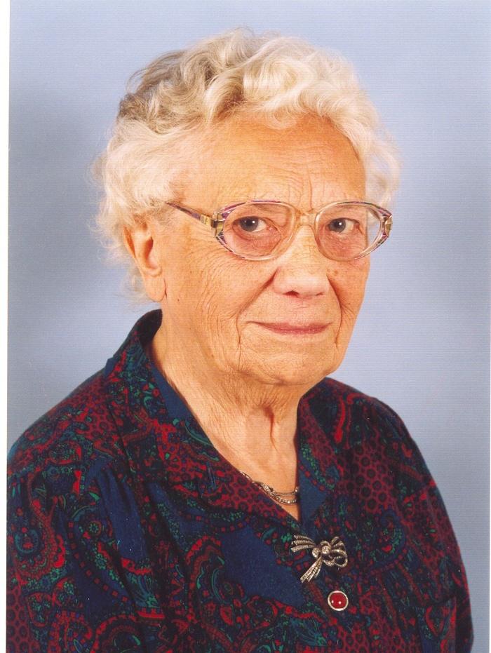 Portrait de CHAUSTEUR Marie-Andrée