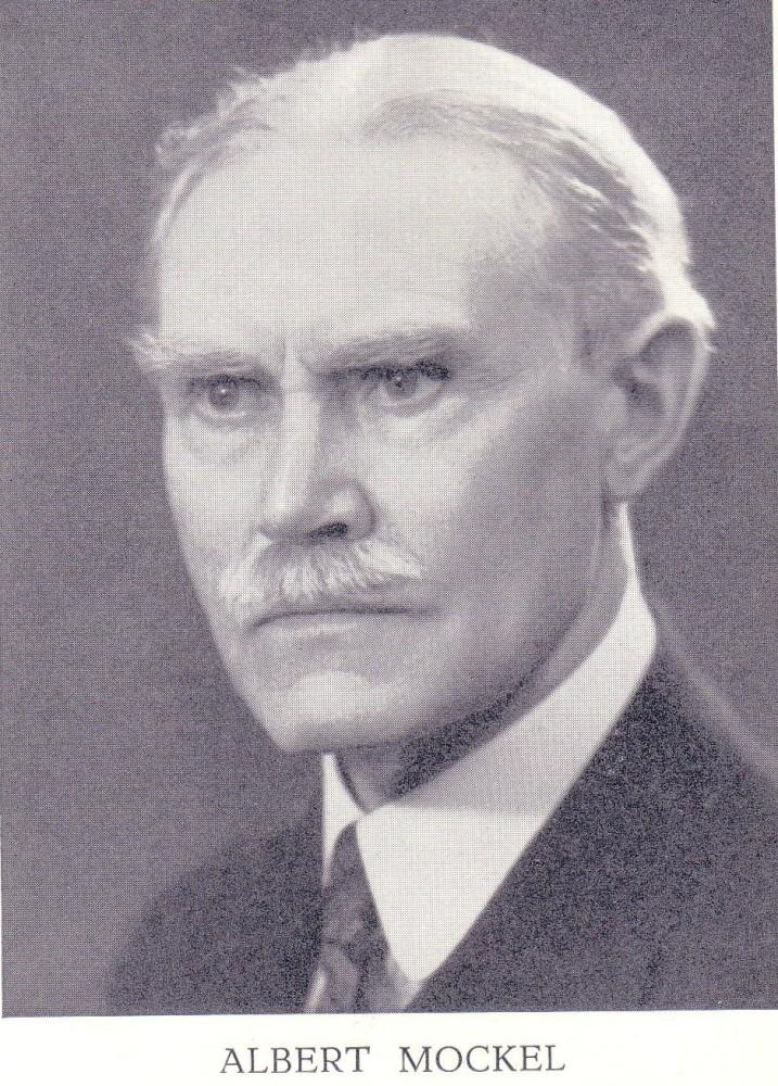 Portrait de MOCKEL Albert