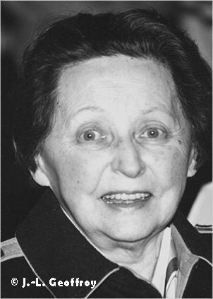 Portrait de KEGELS Anne-Marie