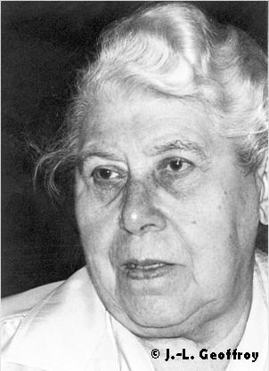 Portrait de BERTH Simone