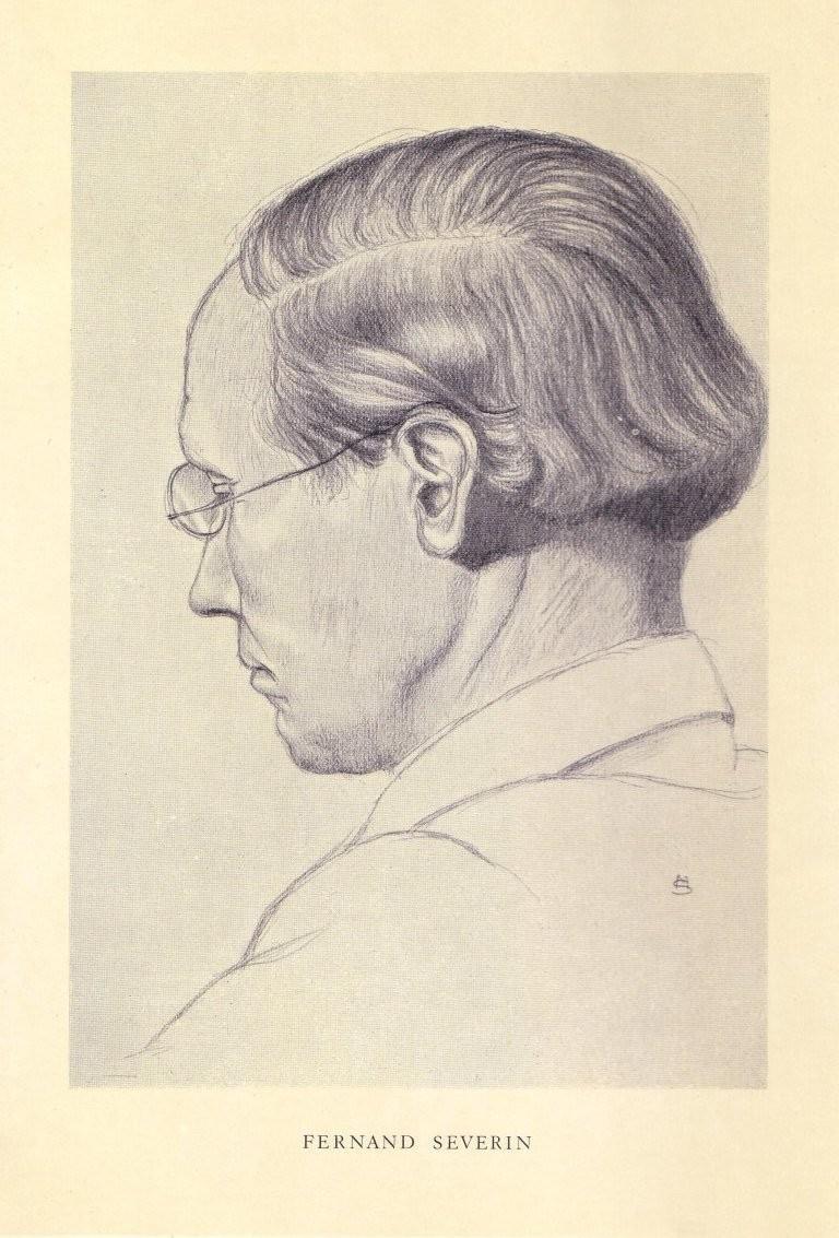 Portrait de SEVERIN Fernand
