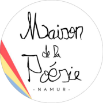 Logo maison de la poésie